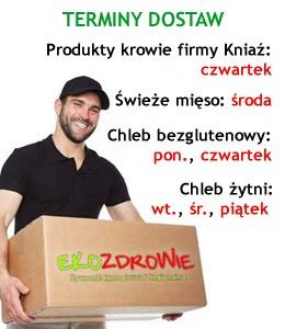 Terminy dostaw