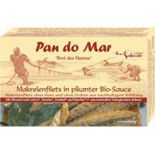 MAKRELA W BIO PIKANTNYM SOSIE 120g - PAN DO MAR