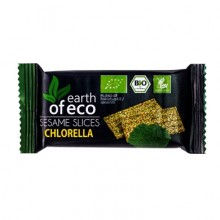 SEZAMKI Z CHLORELLĄ BIO 18 g - EARTH OF ECO