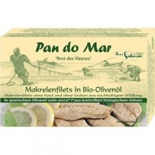MAKRELA W BIO OLIWIE Z OLIWEK 120 g - PAN DO MAR