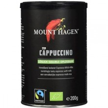 KAWA CAPPUCCINO FAIR TRADE BIO 200 g - MOUNT HAGEN